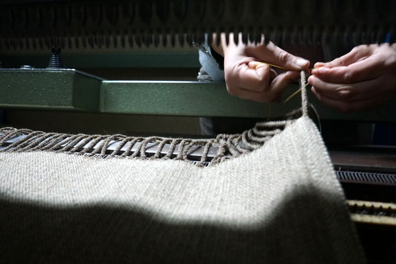 Visiting Ecolã -- a Burel wool factory