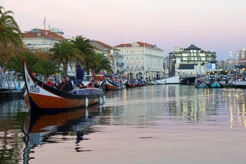 Aveiro the Venice of Portugal in Central Portugal