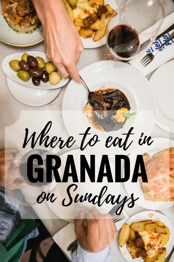 Not sure where to eat in Granada on Sundays? No worries! Here are some of our top picks for a delicious meal to end your weekend right.