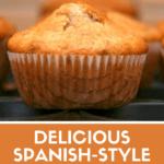 Spanish magdalenas pinterest image