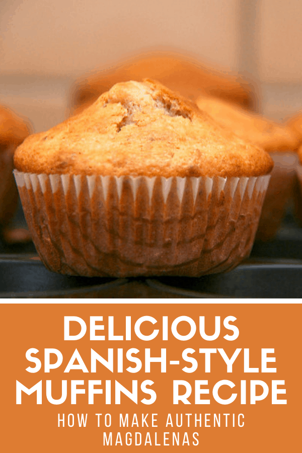One of my favorite authentic Spanish treats are magdalenas, which are similar to muffins but much simpler. This recipe for Spanish magdalenas is made with excellent local olive oil, which is the secret ingredient (bad olive oil = bad magdalenas!). I usually eat them when I want a sweet breakfast, but they're great for dessert as well!