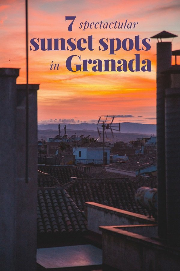 End your day on the most beautiful note possible! These 7 spots to watch the sunset in Granada will take your breath away.
