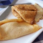 eating gluten free in santiago de Compostela - gluten free crepes at St. Jacques