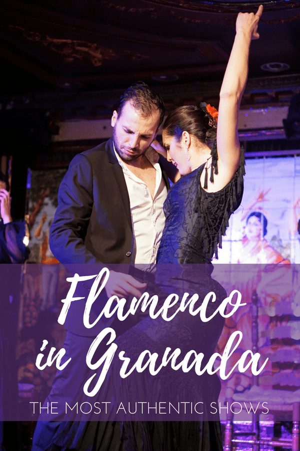 Catching an authentic flamenco show is an absolute must while in southern Spain. If your trip is taking you to Granada, these are a few of the places in town where you can an enjoy an unforgettable performance. You're going to understand immediately why this is one of the top things to do in Granada! #travelling #traveltip #granada #spain #europe #dance