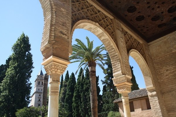 When deciding when to visit the Alhambra, consider coming in the morning to beat the crowds!