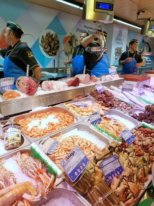 Markets in Madrid - Mercado de la Paz Salamanca