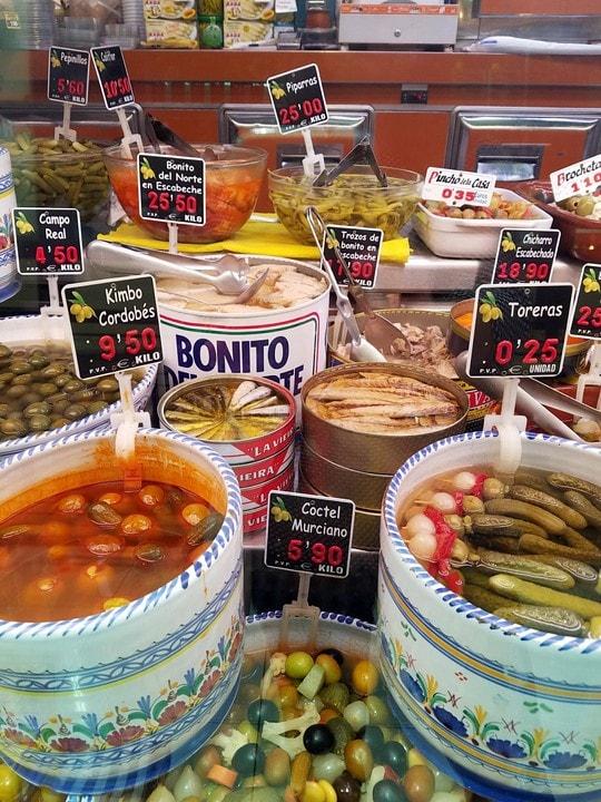 Mercado de la Paz the best markets in Madrid