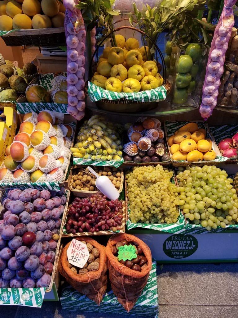 Markets in Madrid: Mercado de la Paz
