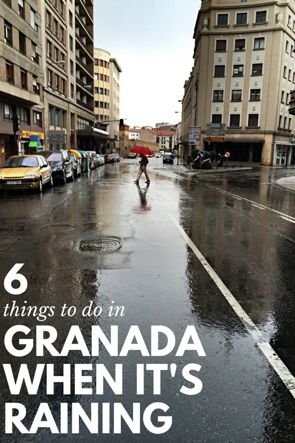 If you're not sure what to do in Granada when it's raining, don't let the weather ruin your trip. Here's what to do instead.