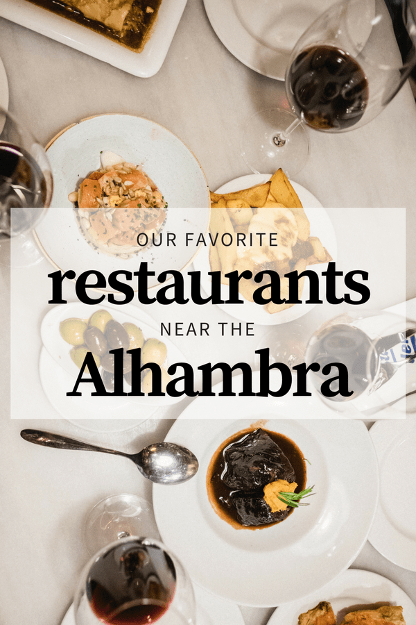 Get off the beaten path! These five amazing restaurants near the Alhambra are truly authentic.