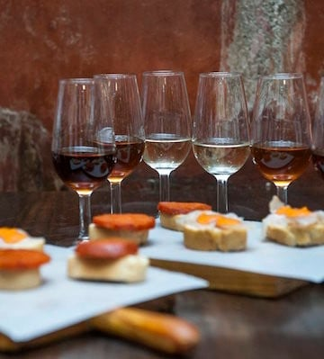 Sherry wines are a must try gourmet product in Seville.
