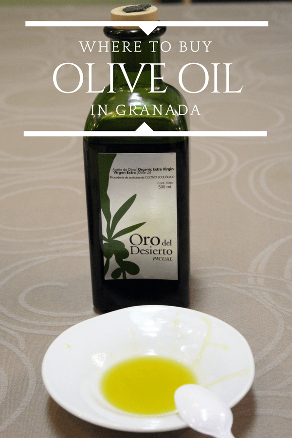 You may not know this, but southern Spain alone produces more than double the amount of olive oil as all of Italy combined! So what better souvenir to bring home from Granada than a bottle of local olive oil? These are our favorite spots to buy the liquid gold—make sure to make time during your shopping day to pick some up! #travel #travelersnotebook #foodie #delicious #spain #europe #shopping