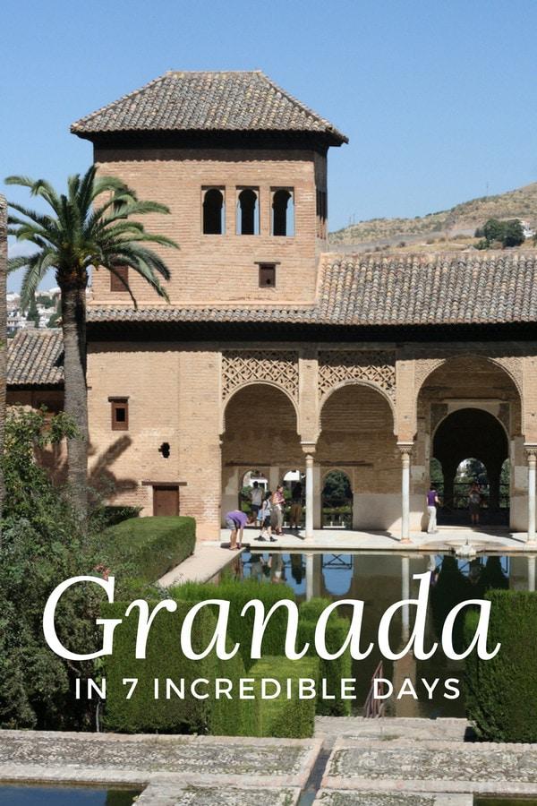 Get ready to spend an unforgettable 7 days in Granada!