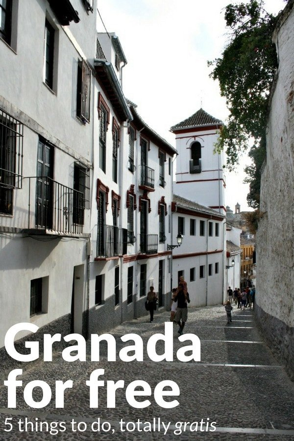 Traveling on a budget? You won't want to miss this list of things to do in Granada for free.