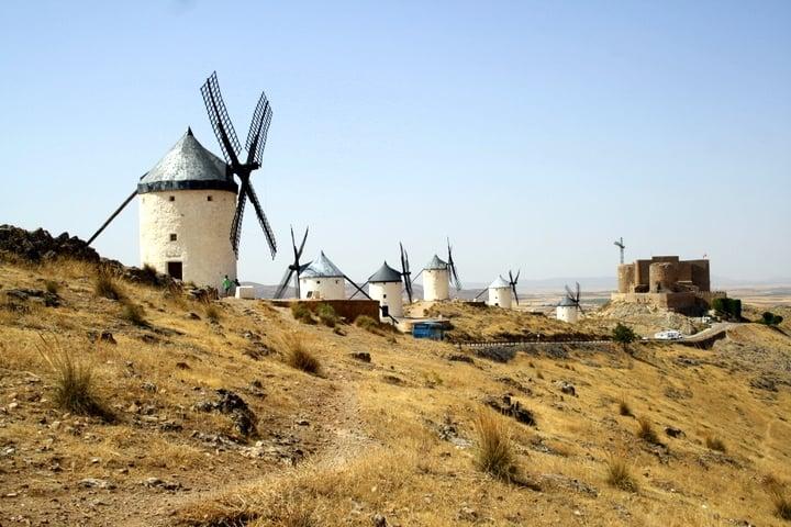 What to see in Toledo: Windmills Consuegra La Mancha