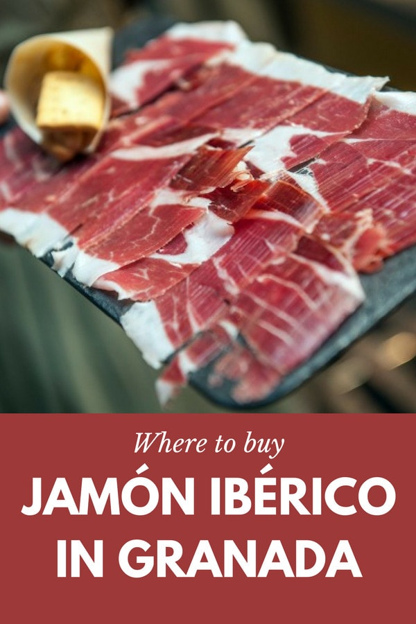 Who wouldn't want to buy jamón ibérico in Granada? Here are the best gourmet shops and bars where you can pick up Spain's greatest gift to gastronomy to take home.