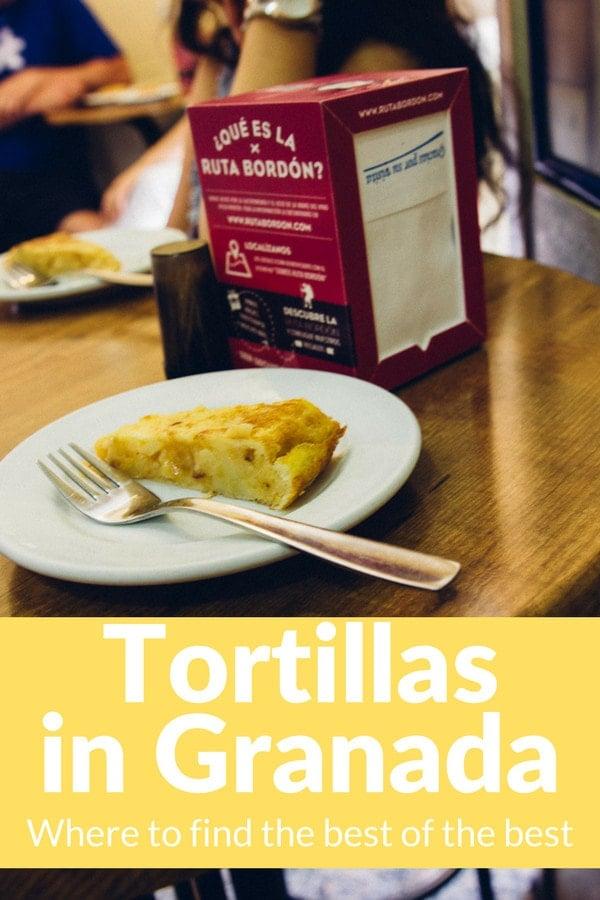 Devour a Spanish classic: here's where to find the top tortillas in Granada.
