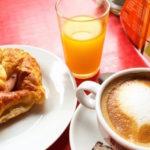Breakfast in Santiago de Compostela
