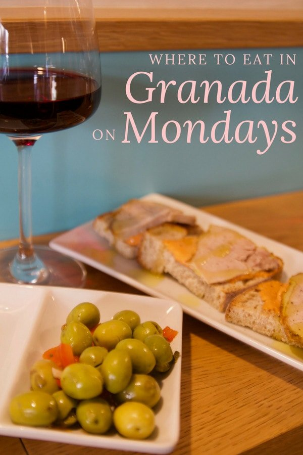If you're not sure where to eat in Granada on Mondays, you've come to the right place. Here's a complete roundup of the best, most authentic options.