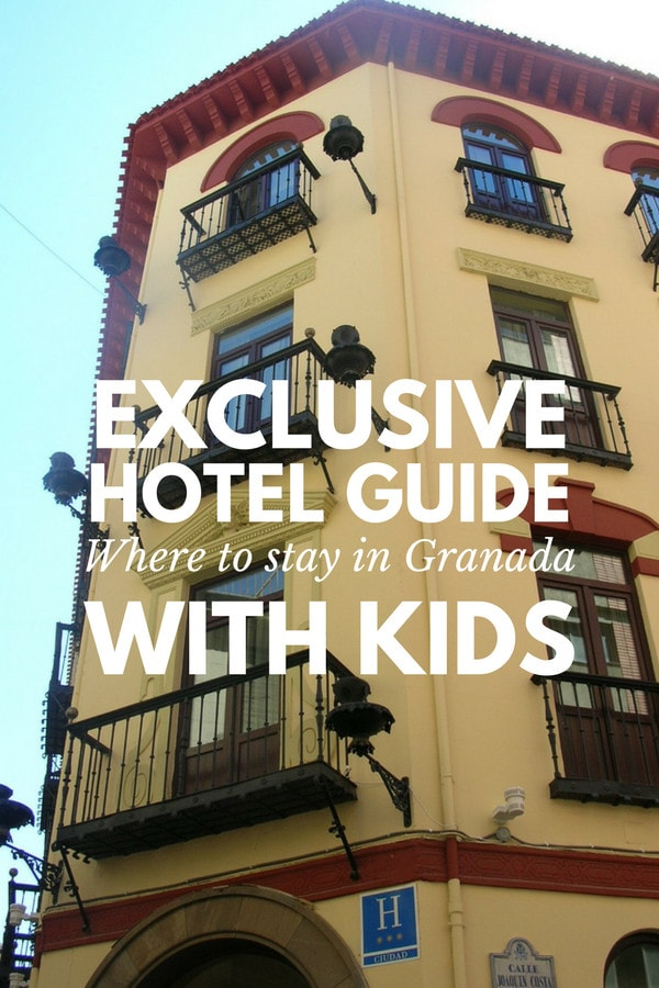 Wondering where to stay in Granada with kids? We've got our top picks right here!