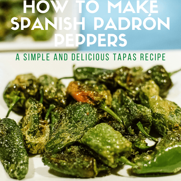 Pimientos de padrón are one of my favorite tapas recipes. Naturally gluten free and a delicious way to get your daily fill of veggies, the recipe itself is easy, quick, delicious—not to mention vegan and it comes together in one pot! What more could you want?