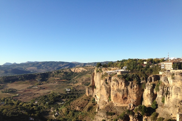 Some of the best Malaga wineries are located in the lovely town of Ronda.