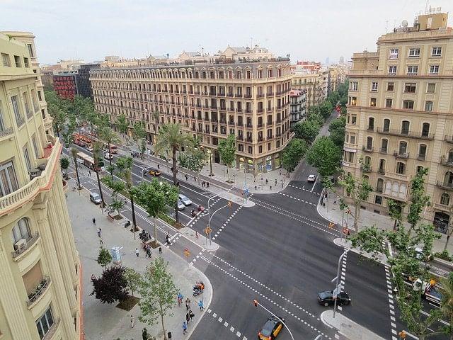 Where to shop in Barcelona - Avinguda Diagonal