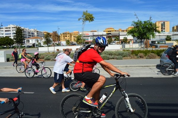 Renting bikes in Malaga is inexpensive and easy!