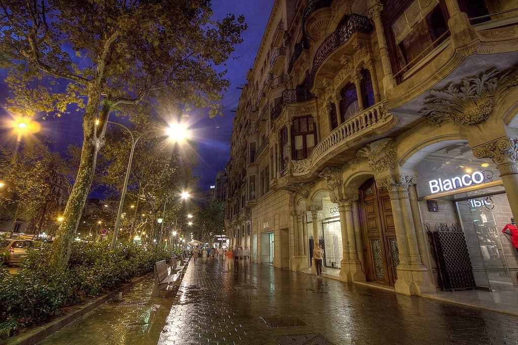 where to shop in Barcelona