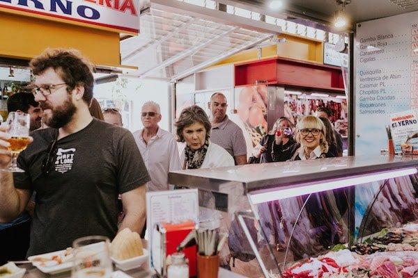 Start the second of your 3 days in Malaga with a trip to the vibrant Atarazanas Market.