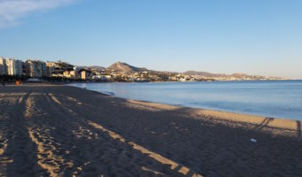 Spending some time at the beach is a must during your 3 days in Malaga!