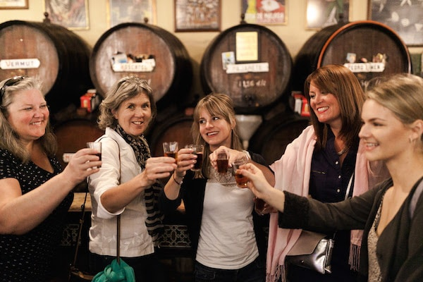 When it comes to wines to order in Granada, anything from nearby Malaga is a great choice!