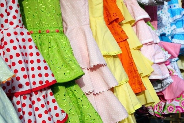 Pick up a flamenco dress at El Rocío while you're out boutique shopping in Granada!