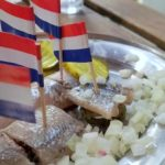Herring in Amsterdam - must try foods in Amsterdam