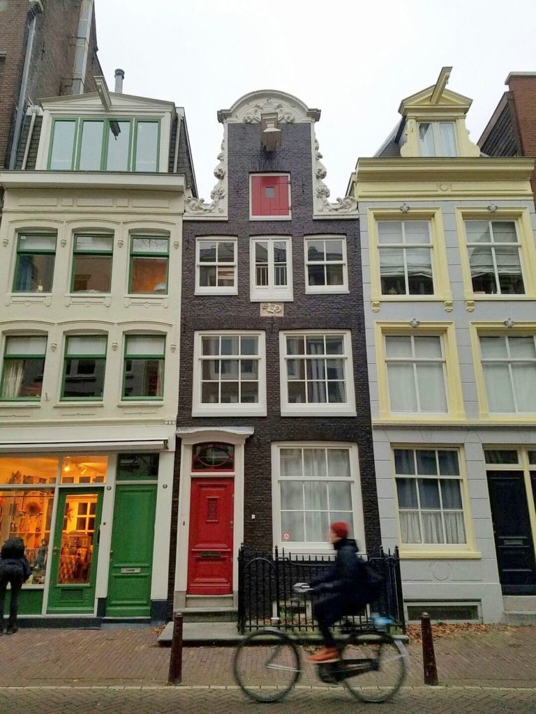 Cute Dutch houses must try foods in Amsterdam