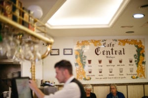 If you're wondering how to order coffee in Malaga, the first place you need to visit is Cafe Central.