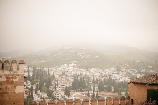 One of the best views of Granada is a classic: the Albayzín as seen from the Alhambra.