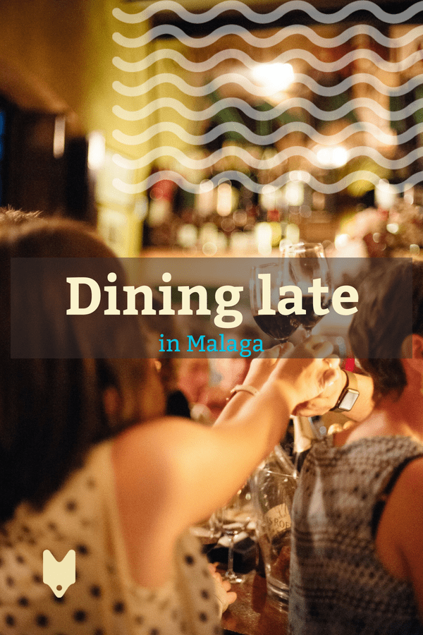 Looking for the best restaurants open late in Malaga? Here are a few of the places locals love where you can grab a bite after dark. #malaga