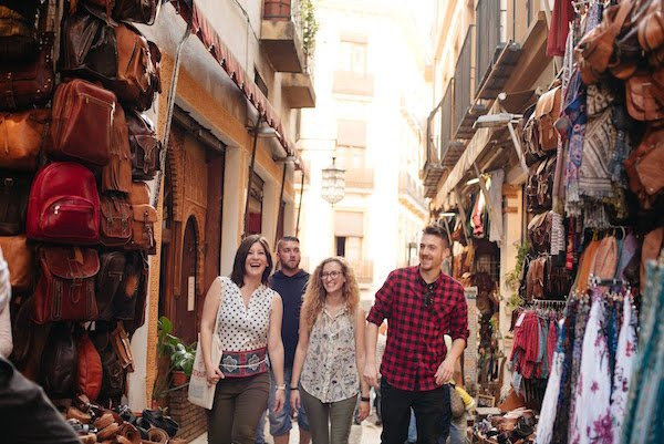 Start your 10 days in Granada off by exploring your neighborhood.