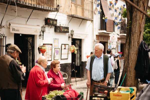 During 10 days in Granada, you'll have plenty of time to experience local life, such as at the produce market in Plaza Larga.