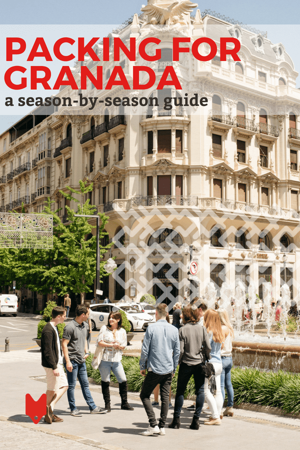 Not sure what to pack for Granada? This seasonal guide will walk you through the essentials for every season.