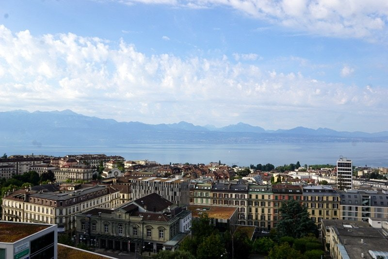 Lausanne views Hotel La Paix - things to do in Lausanne