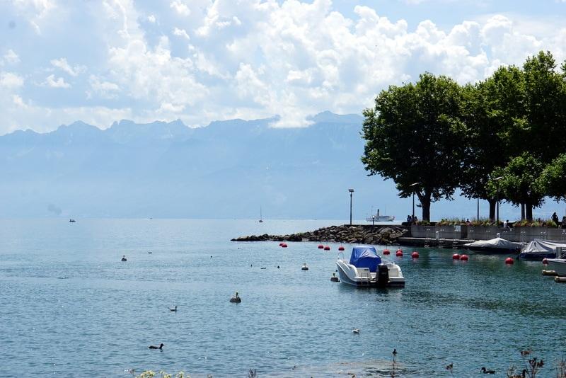 Lac Léman Lake Geneva Lausanne