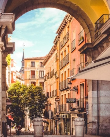 self-guided tapas tour Madrid