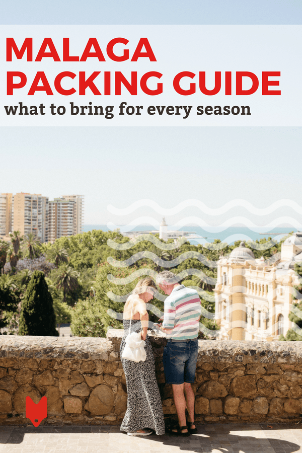 Packing for Malaga? Here's what you need to bring no matter what season you're going!