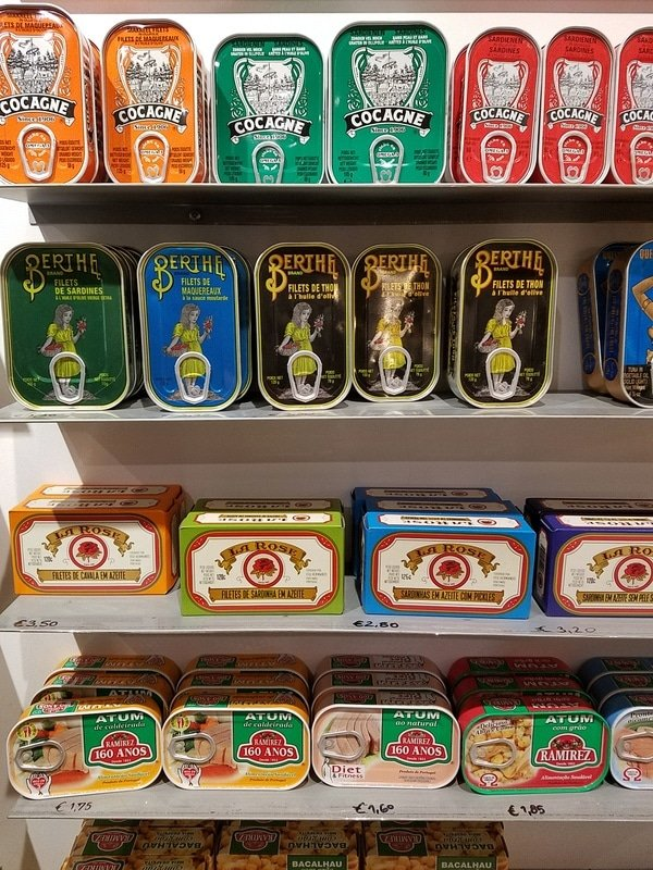 Canned sardines: what to eat in Lisbon guide top 13 foods in Lisbon - sardines