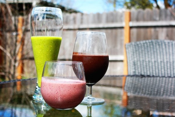You'll love the smoothies at Cafe Baraka, one of the best places to get brunch in Granada!