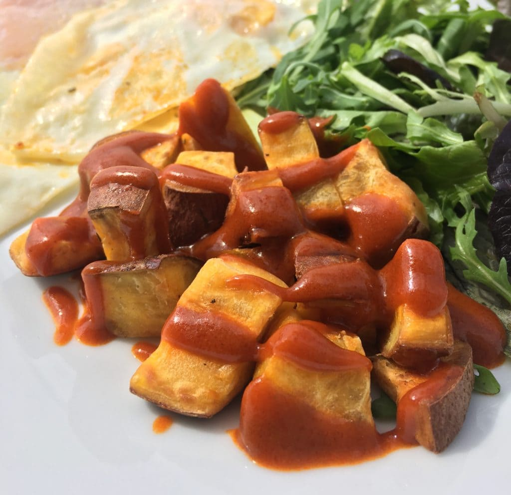 Learn how to make salsa brava with this bravas sauce recipe!