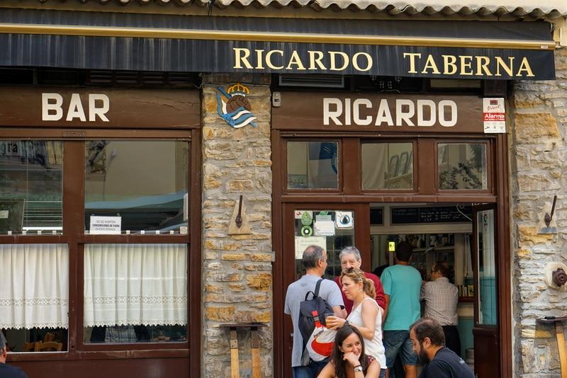 Bar Ricardo: one of the best pintxos bars in Gros San Sebastian