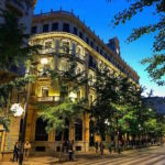 One of the best family-friendly hotels in Granada is Suites Gran Vía 44, a beautiful building with full family apartments on Granada's main avenue.
